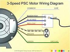 trane fan capacitor 3 wire diagram decor