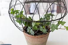wire orb topiary diy