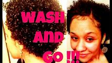 winter quot wash and go quot short natural hair part 1 quick routine mcfarlingirl youtube