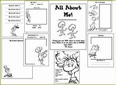 the art of teaching a kindergarten blog dr seuss all about me book