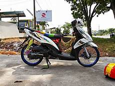 Modifikasi Motor Mio Standar by 100 Foto Modifikasi Motor Mio Jet Teamodifikasi