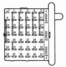 1996 ford e 350 fuse panel diagram ford e series e 350 e350 1997 fuse box diagram auto genius