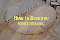 Rost Entfernen Hausmittel - 19 superb home remedies for removing stubborn rust stain marks
