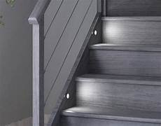 spot escalier led kit 233 clairage escalier 8 spots led vita confort