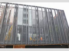 Safe Deck Perforated Metal Cladding   Home