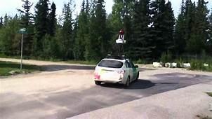Google Earth Street View Car Alaska  YouTube
