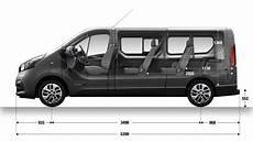 Dimension Trafic Passenger Vans Renault Uk