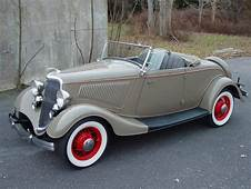 1934 Ford Convertible Roadster For Sale  Hemmings Motor