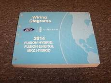 electric and cars manual 2013 ford fusion security system 2014 ford fusion energi hybrid electrical wiring diagram manual titanium se 2 0l ebay