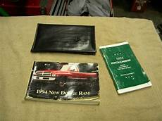 auto repair manual online 1994 dodge ram 1500 electronic toll collection 1994 dodge ram 1500 owners manual ebay