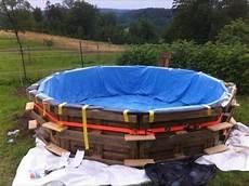 Pool Aus Ibc Tank Container Selber Bauen So
