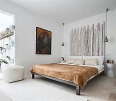 tete de lit bois peint inspirations pour t 234 tes de lit originales