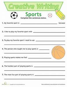 sport worksheets for year 1 15896 sentence writing sports sentence writing worksheets education