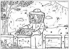 kleurplaat bee coloring pages bee bee hive plans