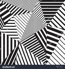 Geometric Abstract Black And White abstract geometric vector black white pattern stock vector