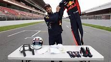 what kit does an f1 driver wear daniel ricciardo explains