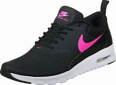 nike air max thea gs shoes black pink