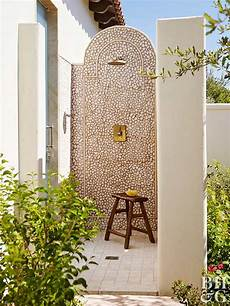 12 outdoor shower ideas to steal for your yard better homes gardens