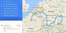 route planner europe cross country route optimization