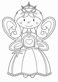 Ausmalbilder Prinzessin Fee Malvorlagen Feen 04 Malvorlagen Ausmalbilder Prinzessin