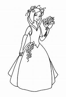 Malvorlage Prinzessin Hochzeit Asumalbilder Ausmalbilder Hochzeit
