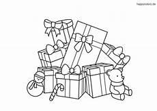 weihnachtsgeschenke ausmalbild weihnachtsmalvorlagen