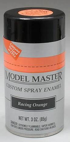 testors 2938 racing orange gloss master auto enamel