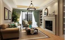 Modern American Style Living Room 3d Model Cgtrader