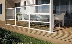 glas windschutz terrasse deko ideen windschutz f 252 r terrasse und balkon w 228 hlen 20