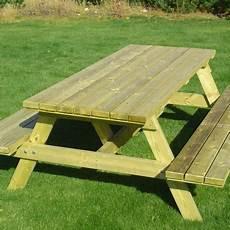 table de pique nique de jardin en bois de pin autoclave