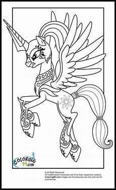 princess celestia with armour colouring for the