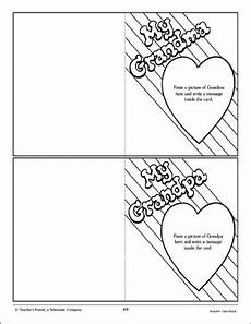 day crafts cards activities and worksheets 20494 grandparents day cards craft activity printable arts crafts and skills sheets