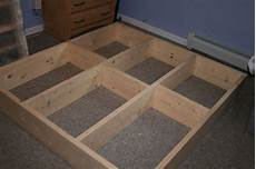 Bett Selber Bauen Podest - build platform bed with drawers n 225 bytek diy platform