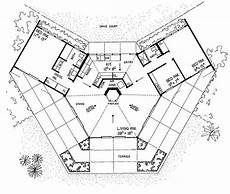 small hexagon house plans hexagon house plan a home pinterest hexagons unique