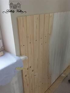 Wandvertäfelung Holz Selber Machen - holzvert 228 felung streichen
