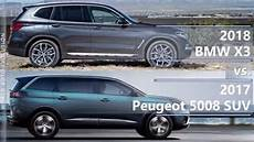 2018 Bmw X3 Vs 2017 Peugeot 5008 Suv Technical Comparison