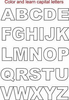 capital letters coloring printable page for kids alphabets coloring printable pages for kids