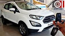 2019 ford ecosport s sports edition sunroof price