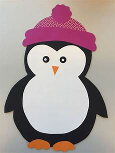penguin paper craft template penguin craft crafts