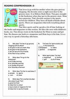 reading comprehension worksheets for beginners 19203 reading comprehension for beginner and elementary students 2 esl worksheets for