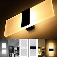 modern led wall lighting up down cube indoor outdoor