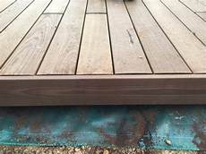 structure terrasse bois terrasse bois sur structure en aluminium paysagiste gironde