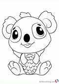 Koalabee From Hatchimals Coloring Pages  Free Printable