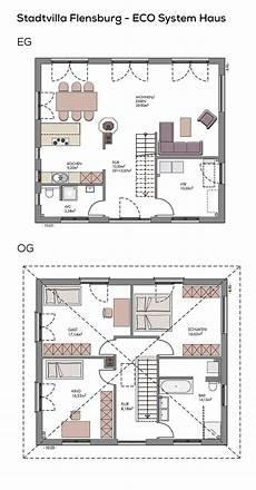 Stadtvilla Grundriss Modern Mit Kamin Zeltdach