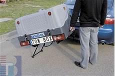 koffer für anhängerkupplung hecktr 228 ger mit grundtr 228 ger und box als lastentr 228 ger ahk