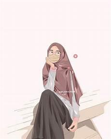 1000 Gambar Kartun Wanita Muslimah Cantik Dan Lucu
