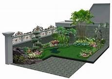Desain Landscape Minimalis Minimalis Taman Rumah Minimalis