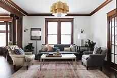1902 victorian jean stoffer design darkwoodtrim craftsman living rooms interior paint