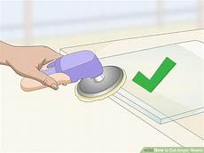3 ways to cut acrylic sheets wikihow