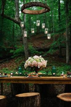 Wood Decorations Outdoor by 30 Woodland Wedding Table D 233 Cor Ideas Deer Pearl Flowers